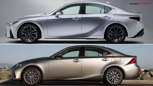 Những khác biệt cần biết trên Lexus IS 2020: Liệu có thể làm khó Mercedes C-Class?