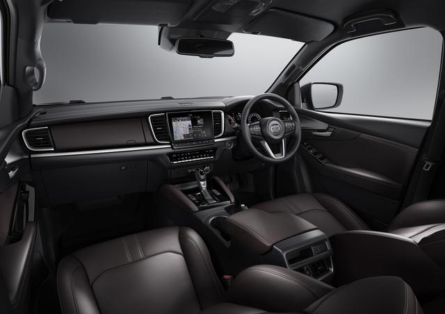 Ra mắt Mazda BT-50 2021: Giống CX-5, khung gầm D-Max, sẵn sàng về Việt Nam đấu Ford Ranger - Ảnh 3.