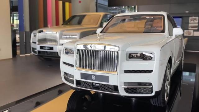 Mô hình Rolls-Royce Cullinan y như thật giá 40.000 USD, đắt hơn cả Mercedes-Benz GLB
