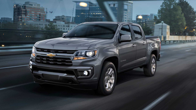 Chevrolet Colorado với thiết kế Silverado cỡ lớn chuẩn bị ra mắt nhằm đấu Ford Ranger