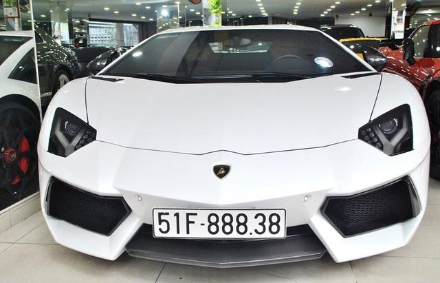 Qua tay nhiều đại gia và được độ kỳ công, Lamborghini Aventador chính hãng đầu tiên Việt Nam được dỡ đồ bán lại giá 19 tỷ đồng - Ảnh 1.