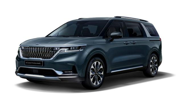 Ra mắt Kia Sedona 2021: Lột xác như SUV, đẹp hệt concept - Ảnh 3.