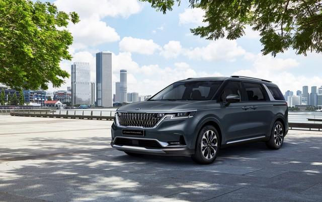 Ra mắt Kia Sedona 2021: Lột xác như SUV, đẹp hệt concept - Ảnh 1.