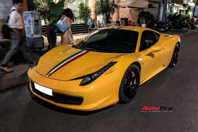 Ferrari 458 Italia khó gặp nhất Việt Nam tái xuất, chủ nhân sở hữu nhiều siêu phẩm, có xe từng của Dũng mặt sắt - Ảnh 1.