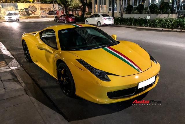 Ferrari 458 Italia khó gặp nhất Việt Nam tái xuất, chủ nhân sở hữu nhiều siêu phẩm, có xe từng của Dũng mặt sắt - Ảnh 4.