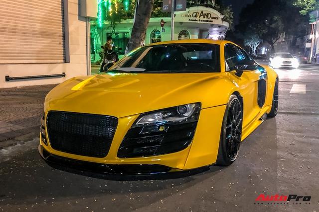 Audi R8 độ độc nhất Việt Nam bất ngờ quay lại Sài Gòn  - Ảnh 3.
