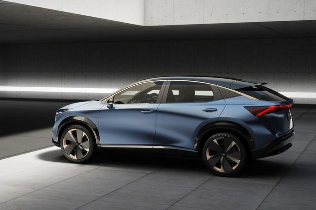 Đàn em X-Trail là Nissan Ariya hoàn thiện nhanh bất ngờ, ra mắt ngay tháng 7 này - Ảnh 3.