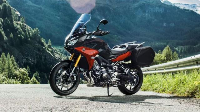 Yamaha Tracer 900 GT thêm màu sắc, giá không đổi - Ảnh 1.
