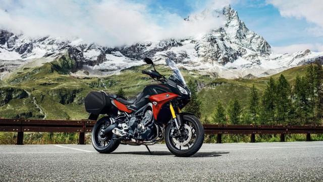 Yamaha Tracer 900 GT thêm màu sắc, giá không đổi - Ảnh 2.