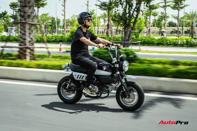 Rong chơi tháng ngày trên Honda Monkey như những chú khỉ lêu nghêu trên đường phố Việt - Ảnh 5.