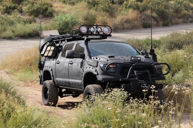 Quái thú Toyota Tundra vơi gói trang bị TRD Off-Road - Ảnh 2.