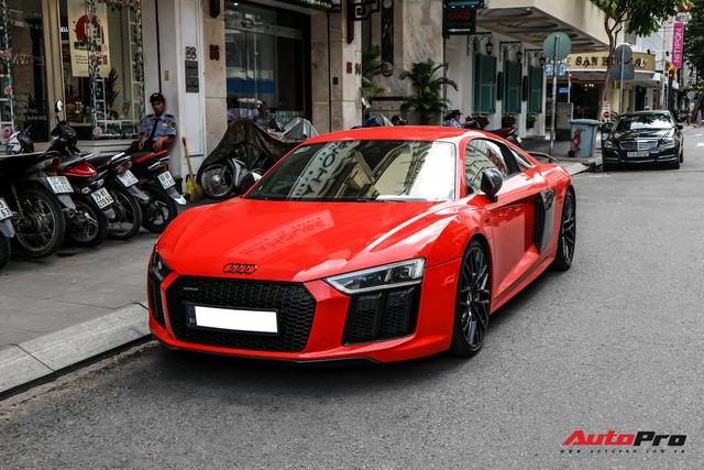 Audi R8 V10 Plus từng của ông Đặng Lê Nguyên Vũ bất ngờ xuất hiện tại Sài Gòn - Ảnh 1.