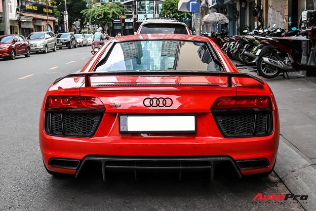 Audi R8 V10 Plus từng của ông Đặng Lê Nguyên Vũ bất ngờ xuất hiện tại Sài Gòn - Ảnh 6.