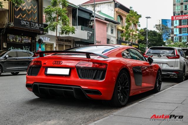 Audi R8 V10 Plus từng của ông Đặng Lê Nguyên Vũ bất ngờ xuất hiện tại Sài Gòn - Ảnh 7.