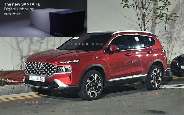 Hyundai chuẩn bị công bố giá bán Santa Fe 2021 - Nỗi lo của Mazda CX-8 và Kia Sorento - Ảnh 1.