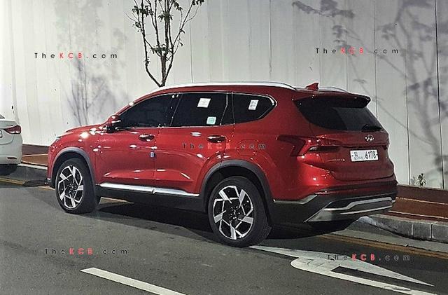 Hyundai chuẩn bị công bố giá bán Santa Fe 2021 - Nỗi lo của Mazda CX-8 và Kia Sorento - Ảnh 3.