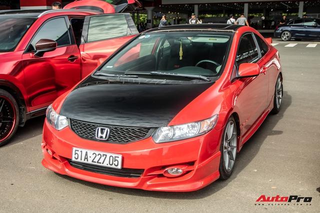 Giới chơi xe thể thao Nhật tụ họp: Có xe độ cả nửa tỷ, Honda Civic độc nhất Việt Nam - Ảnh 8.