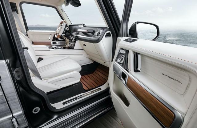 Hình ảnh Mercedes-AMG G63 Yachting Edition lấy cảm hừng từ du thuyền - Ảnh 5.