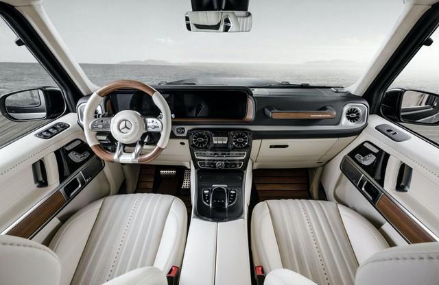 Hình ảnh Mercedes-AMG G63 Yachting Edition lấy cảm hừng từ du thuyền - Ảnh 6.