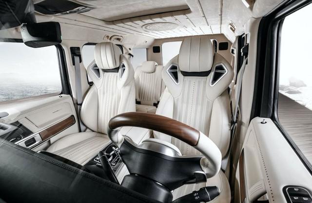 Hình ảnh Mercedes-AMG G63 Yachting Edition lấy cảm hừng từ du thuyền - Ảnh 7.