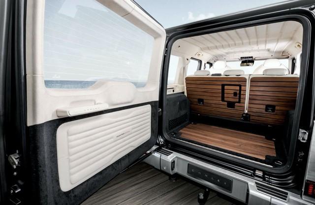 Hình ảnh Mercedes-AMG G63 Yachting Edition lấy cảm hừng từ du thuyền - Ảnh 8.