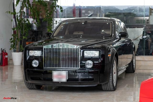 Xe siêu sang Rolls-Royce Phantom EWB đời 2008 còn lại gì sau 12 năm sử dụng? - Ảnh 1.