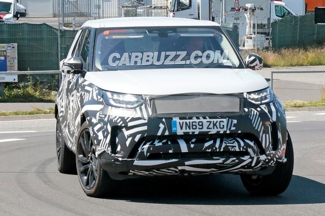 Cái nhìn đầu tiên về Land Rover Discovery mới - Ảnh 2.