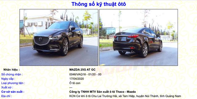 Mazda6 2020 lần đầu lộ ảnh 'trần trụi' và thông số kỹ thuật chi tiết tại Việt Nam, cận kề ngày ra mắt đáp trả Toyota Camry - Ảnh 1.