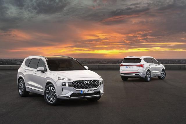 Hyundai Santa Fe 2021 lộ diện: Lột xác ngoại hình, nội thất học hỏi Palisade, sức ép lớn cho Mazda CX-8 - Ảnh 8.