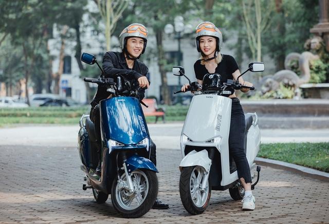 Ra mắt YADEA BuyE: Xe máy điện to ngang Honda LEAD, giá 22 triệu đồng, đi được hơn 90 km/sạc - Ảnh 1.