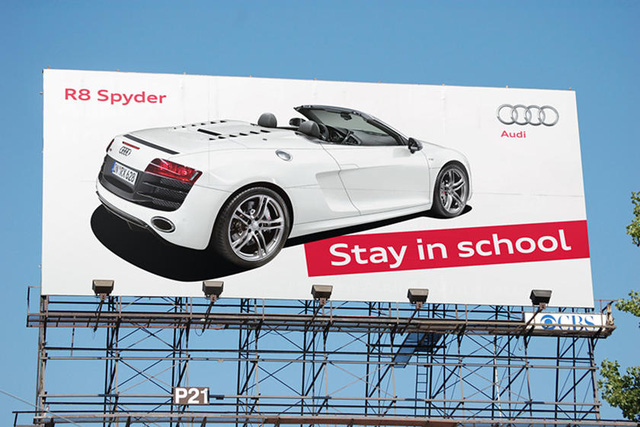 10 biển quảng cáo ô tô trường sinh bất tử với thời gian - Ảnh 2.
