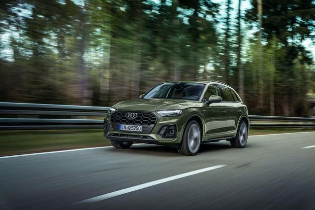 Audi Q5 facelift 2021: Thiết kế sắc sảo, công nghệ hiện đại đấu BMW X3 - Ảnh 9.