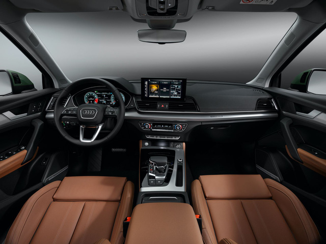 Audi Q5 facelift 2021: Thiết kế sắc sảo, công nghệ hiện đại đấu BMW X3 - Ảnh 5.