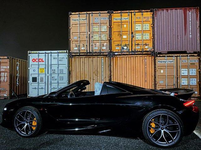Khui công McLaren 720S Spider triệu đô màu độc nhất Việt Nam - Ảnh 3.