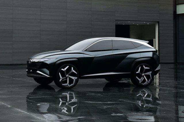 Tucson năm sau mới có thể ra mắt, Hyundai vẫn tìm cách hâm nóng dư luận xoay quanh - Ảnh 1.