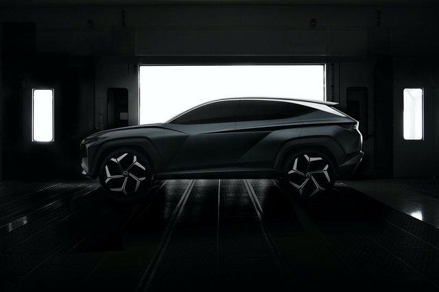 Tucson năm sau mới có thể ra mắt, Hyundai vẫn tìm cách hâm nóng dư luận xoay quanh - Ảnh 2.
