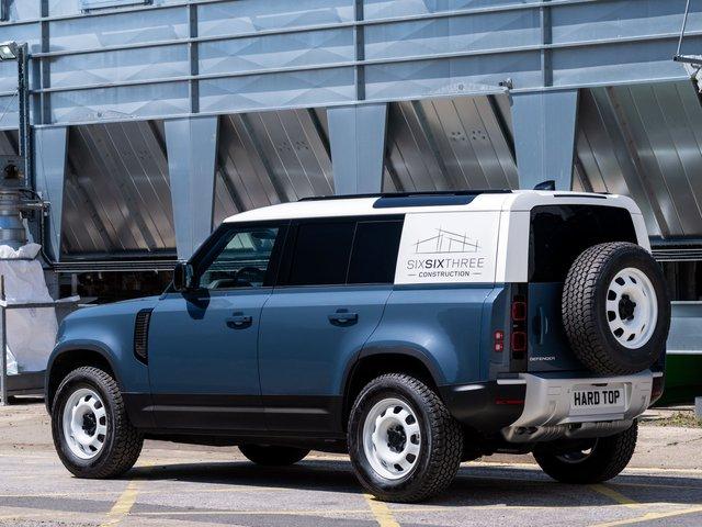 Land Rover Defender Hard Top - Vua địa hình làm dịch vụ - Ảnh 3.