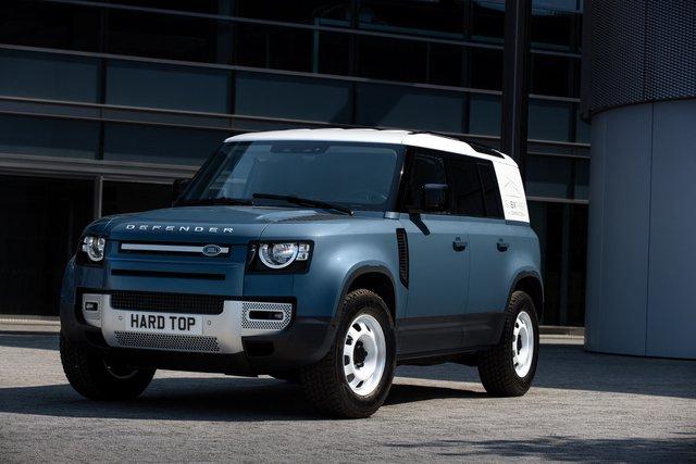 Land Rover Defender Hard Top - Vua địa hình làm dịch vụ - Ảnh 2.
