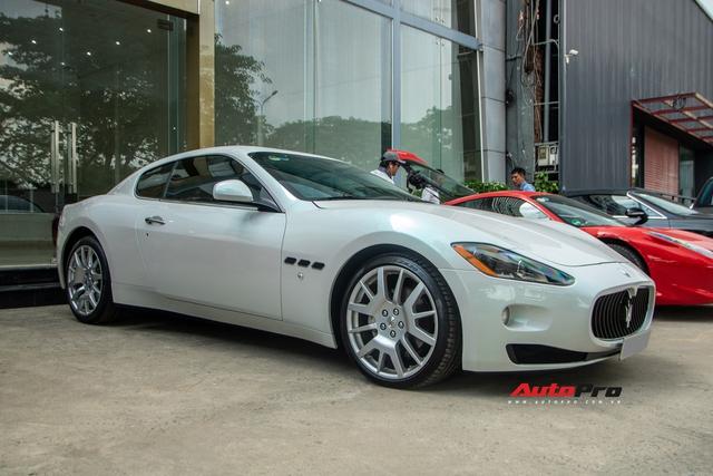 Kỳ công nửa tháng đổi màu Maserati GranTurismo với màu sơn tán sắc lấy cảm hứng từ hypercar Aston Martin Valhalla - Ảnh 6.
