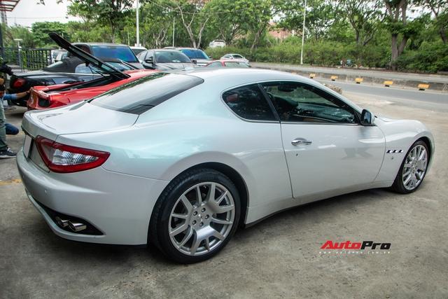 Kỳ công nửa tháng đổi màu Maserati GranTurismo với màu sơn tán sắc lấy cảm hứng từ hypercar Aston Martin Valhalla - Ảnh 4.