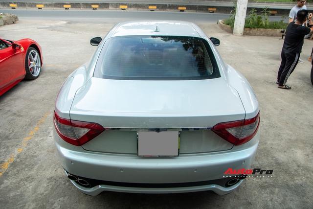 Kỳ công nửa tháng đổi màu Maserati GranTurismo với màu sơn tán sắc lấy cảm hứng từ hypercar Aston Martin Valhalla - Ảnh 7.