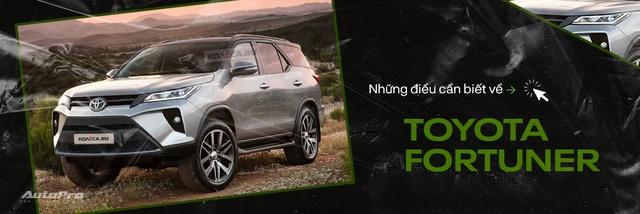 Lộ diện Toyota Fortuner 2021 ngoài đời thực: Đẹp hơn trong ảnh, thế khó cho Ford Everest - Ảnh 8.