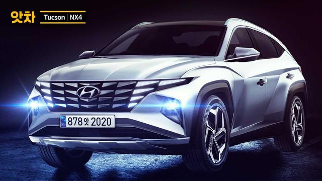 Khắc họa Hyundai Tucson thế hệ mới đẹp như Lamborghini Urus, đe doạ Honda CR-V - Ảnh 2.