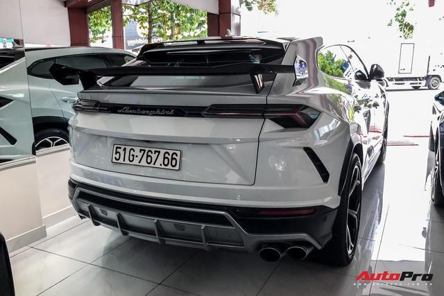 Lamborghini Urus từng của Minh nhựa xuất hiện tại showroom tư nhân, nhiều chi tiết được trả về nguyên bản  - Ảnh 3.