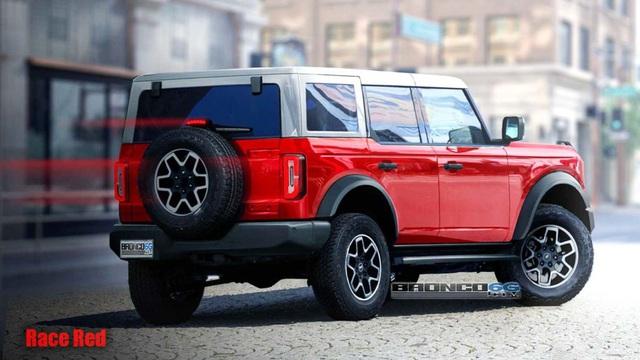 Chốt lịch ra mắt Ford Bronco - SUV địa hình như Mercedes G-Class
