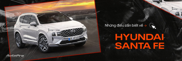 Hyundai Santa Fe 2021 chính thức ra mắt: Giá bán tăng nhẹ, nhiều phiên bản, bán ra trong tháng 7 - Ảnh 6.