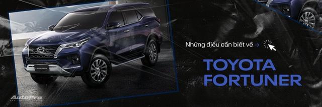 Toyota Fortuner 2021 giá từ 995 triệu đồng: Giảm giá, thêm option quyết lấy lại ngôi vua SUV 7 chỗ tại Việt Nam - Ảnh 6.