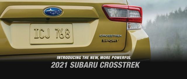 Subaru vén màn Crosstrek 2021, tăng sức mạnh trước Honda HR-V và Mazda CX-3 - Ảnh 1.