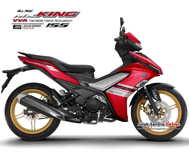 Dân mạng tự thiết kế Yamaha Exciter 155 - Đối thủ của Honda Winner X ra mắt tại Việt Nam trong năm nay - Ảnh 1.
