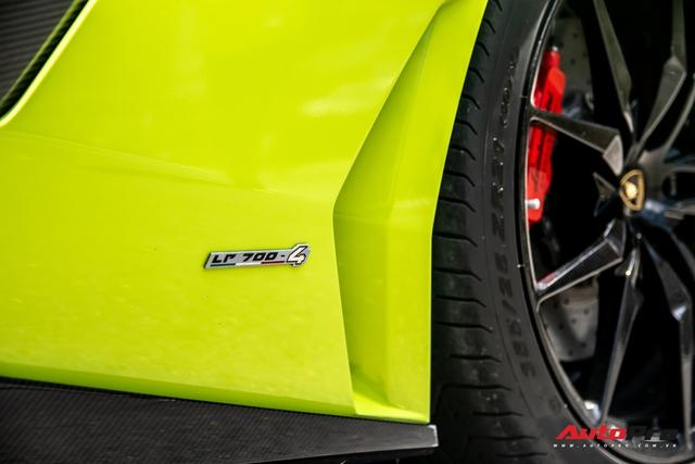Đại gia Sài Gòn lột xác Lamborghini Aventador biển tứ quý 9 với màu sắc chói chang - Ảnh 6.